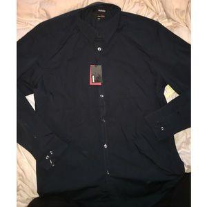 Murano Ultimate Modern Comfort Dark Navy Shirt